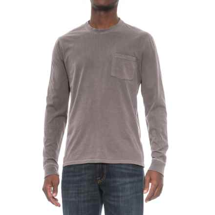 Threads 4 Thought Pocket Shirt - Organic Cotton, Long Sleeve (For Men) in Quite Shade - Closeouts