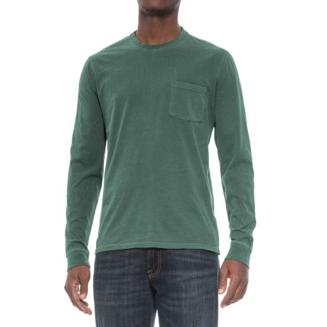 Threads 4 Thought Pocket Shirt - Organic Cotton, Long Sleeve (For Men) in Rosin