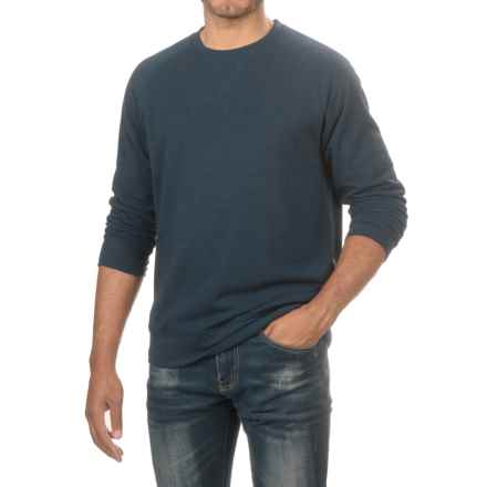 Threads 4 Thought Raglan Sweatshirt - Organic Cotton (For Men) in Midnight - Closeouts