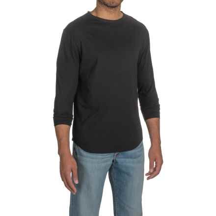 Threads 4 Thought Raw Crew Neck Shirt - Organic Cotton, Long Sleeve (For Men) in Black - Closeouts