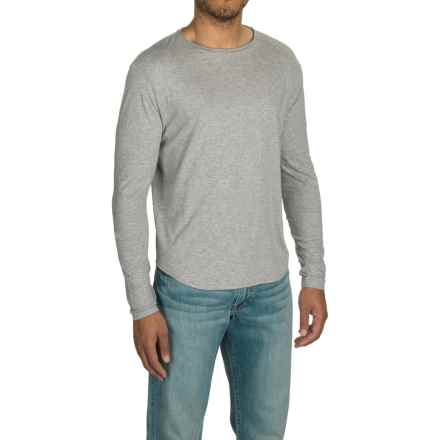 Threads 4 Thought Raw Crew Neck Shirt - Organic Cotton, Long Sleeve (For Men) in Marled Grey - Closeouts
