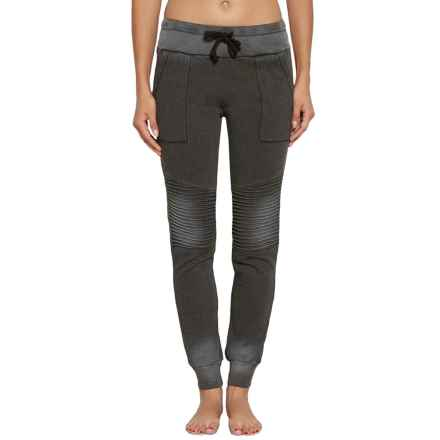 Threads 4 Thought Roxie Moto Joggers (For Women) in Asphalt - Closeouts