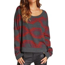 Threads 4 Thought Sequoia Cropped Top - Long Sleeve (For Women) in Clay Pot - Closeouts