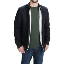 Threads 4 Thought Sherpa-Lined Shirt - Long Sleeve (For Men) in Black - Closeouts