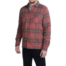 Threads 4 Thought Sherpa-Lined Shirt - Long Sleeve (For Men) in Red/Grey - Closeouts