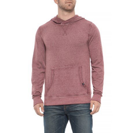 Threads 4 Thought Standard Hoodie - Organic Cotton Blend (For Men) in Maroon Rust