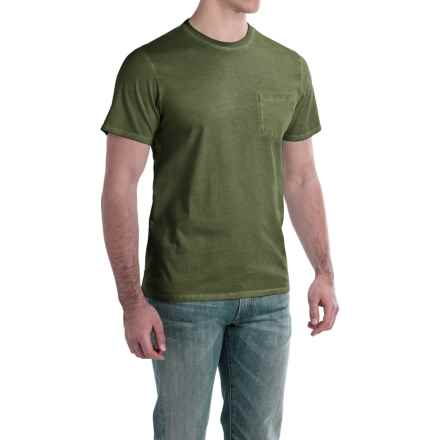 Threads 4 Thought Standard Rainwash Shirt - Organic Cotton, Short Sleeve (For Men) in Army - Closeouts