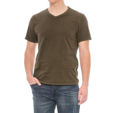 Threads 4 Thought Standard T-Shirt - V-Neck, Short Sleeve (For Men) in Beech