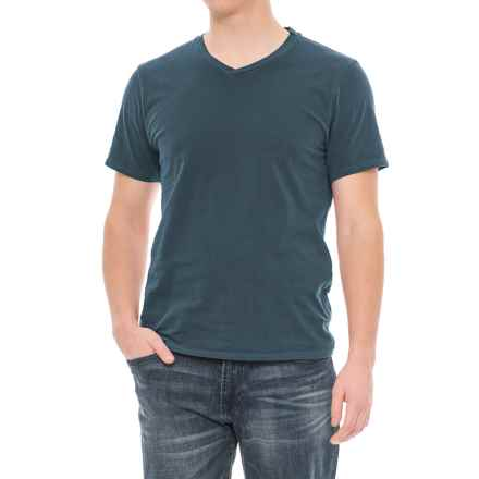 Threads 4 Thought Standard T-Shirt - V-Neck, Short Sleeve (For Men) in Reflecting Pond - Closeouts