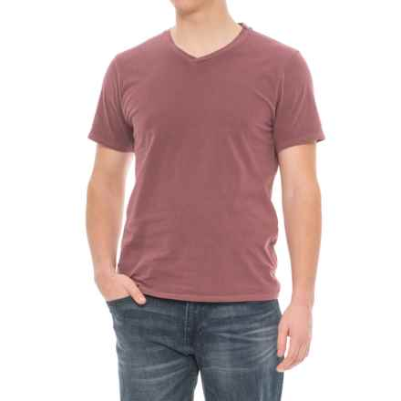 Threads 4 Thought Standard T-Shirt - V-Neck, Short Sleeve (For Men) in Syrah - Closeouts
