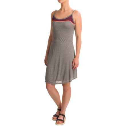 Threads 4 Thought Tamara Dress - Modal, Sleeveless (For Women) in Heather Steel - Closeouts