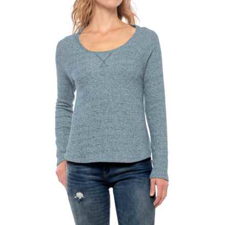Threads 4 Thought Terry-Knit Shirt - Organic Cotton, Long Sleeve (For Women) in Blue - Closeouts