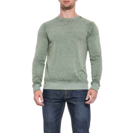 Threads 4 Thought Terry Sweatshirt - Crew Neck (For Men) in Army Fatigue - Closeouts