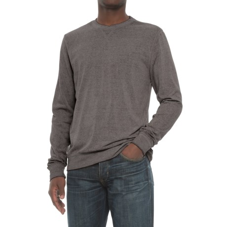 Threads 4 Thought Terry Sweatshirt - Crew Neck (For Men) in Heather Grey