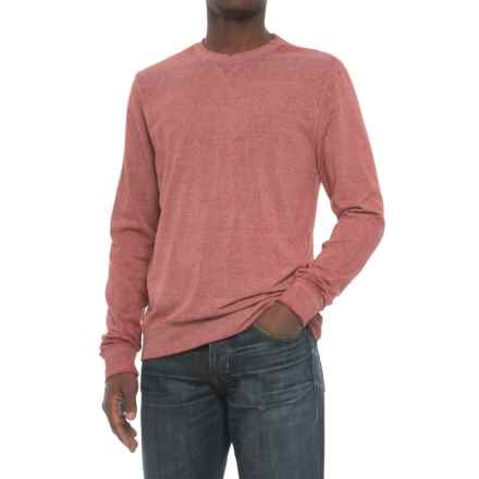 Threads 4 Thought Terry Sweatshirt - Crew Neck (For Men) in Syrah - Closeouts