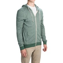 Threads 4 Thought Thermal Hoodie - Organic Cotton-Recycled Polyester (For Men) in Evergreen - Closeouts