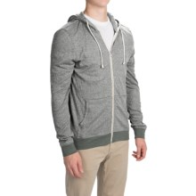 Threads 4 Thought Thermal Hoodie - Organic Cotton-Recycled Polyester (For Men) in Pewter - Closeouts