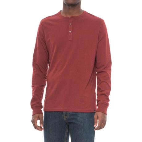 Threads 4 Thought Tri-Blend Henley Shirt - Long Sleeve (For Men)
