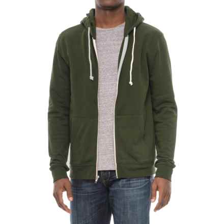 Threads 4 Thought Tri-Blend Zip Hoodie (For Men) in Rosin - Closeouts
