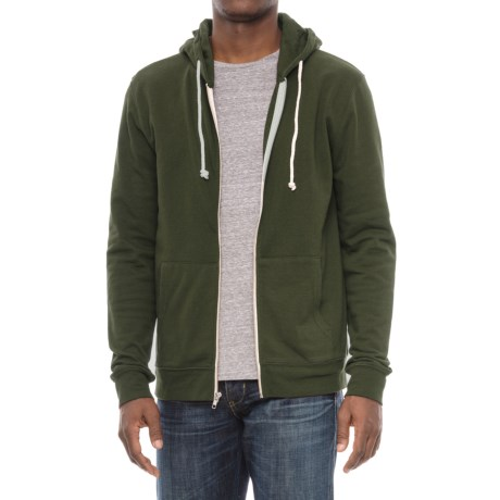 Threads 4 Thought Tri-Blend Zip Hoodie (For Men) in Rosin