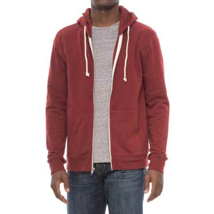 Threads 4 Thought Tri-Blend Zip Hoodie (For Men) in Syrah - Closeouts