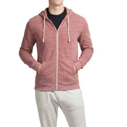 Threads 4 Thought Triblend Full-Zip Hoodie (For Men) in Brick Red - Closeouts