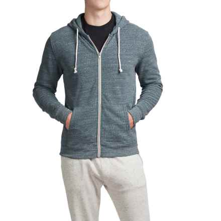 Threads 4 Thought Triblend Full-Zip Hoodie (For Men) in Dark Spruce - Closeouts