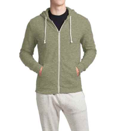 Threads 4 Thought Triblend Full-Zip Hoodie (For Men) in Forest - Closeouts