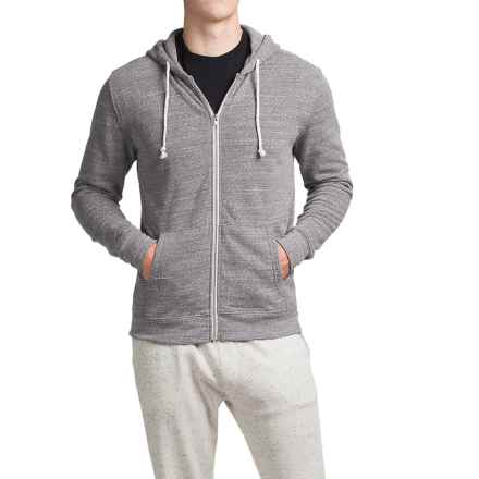 Threads 4 Thought Triblend Full-Zip Hoodie (For Men) in Heather Grey - Closeouts