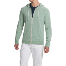 Threads 4 Thought Triblend Jersey Hoodie - Full Zip (For Men) in Cactus - Closeouts