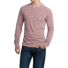 Threads 4 Thought Triblend Pocket T-Shirt - Long Sleeve (For Men) in Brick Red - Closeouts