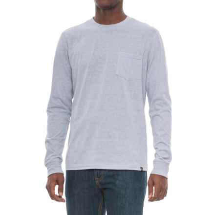 Threads 4 Thought Triblend Pocket T-Shirt - Long Sleeve (For Men) in Greydawn - Closeouts