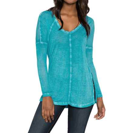 Threads 4 Thought Vara Shirt - Relaxed Fit, Long Sleeve (For Women) in Celestial - Closeouts