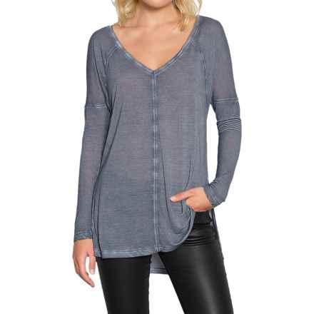 Threads 4 Thought Vara Shirt - Relaxed Fit, Long Sleeve (For Women) in Hydrangea - Closeouts