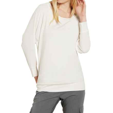 Threads 4 Thought Vera Shirt - Boat Neck, Long Sleeve (For Women) in Alabaster - Closeouts