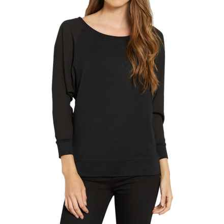 Threads 4 Thought Vera Shirt - Boat Neck, Long Sleeve (For Women) in Black - Closeouts