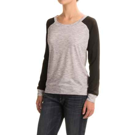 Threads 4 Thought Vera Shirt - Long Sleeve (For Women) in Marble - Closeouts