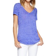 Threads 4 Thought Vintage Wash V-Neck T-Shirt - Organic Cotton, Short Sleeve (For Women) in Deep Iris - Closeouts