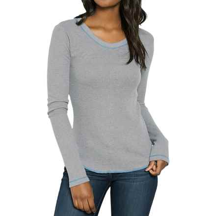 Threads 4 Thought Vita Thermal Shirt - Organic Cotton, Long Sleeve (For Women) in Pewter - Closeouts