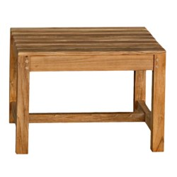 Three Birds Casual Charleston Backless Bench - Premium Teak, 2' in Natural