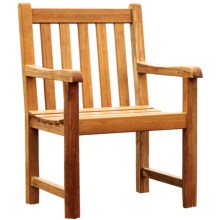 Three Birds Casual Classic Teak Garden/Patio Armchair in Teak - Overstock
