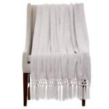 "THRO Dede Vapor Chenille Blanket - 50x60"""