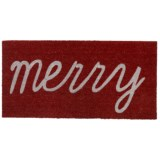 THRO Holiday Coir Doormat - 20x40""