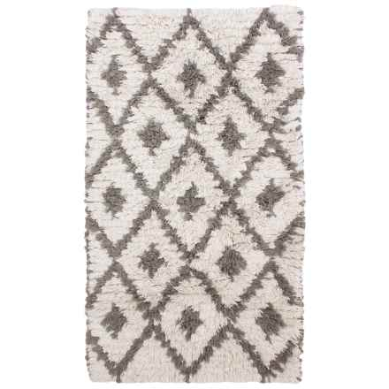 "Thro Home Desiree Accent Rug - 27x45"" in Gray - Closeouts"