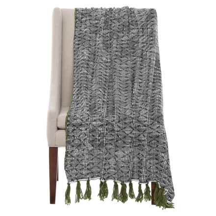 "THRO McLean Knit Throw Blanket - 50x60"" in Cypress - Closeouts"