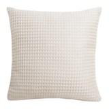 """THRO Sancisco Waffle Pillow - 20x20"""""""
