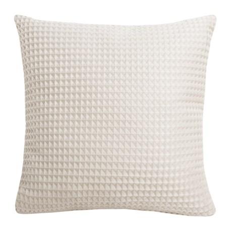 "THRO Sancisco Waffle Pillow - 20x20"" in Egret"