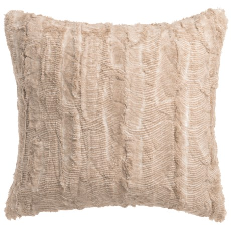 THRO Santana Back-to-Back Faux-Fur Pillow - 20x20""