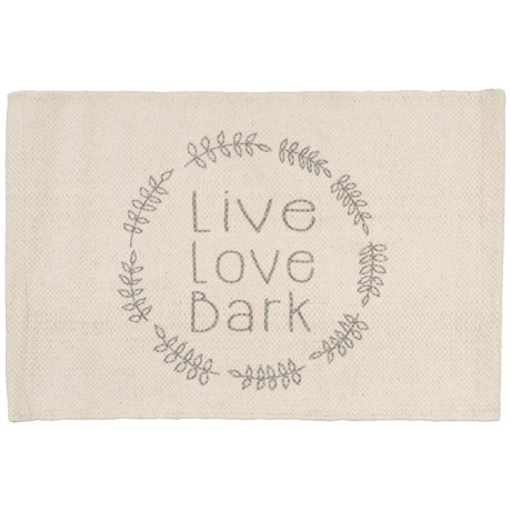 thro wreath live love bark pet placemat 13x19 save 20