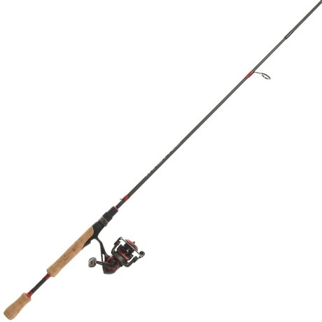 Throttle Size 10 Reel Spinning Rod and Reel Combo – 2-Piece, Medium -Light
